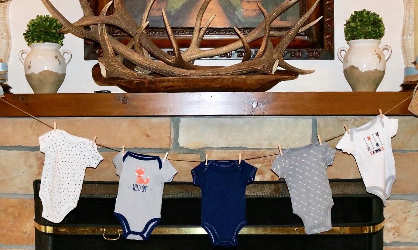 woodland baby shower theme