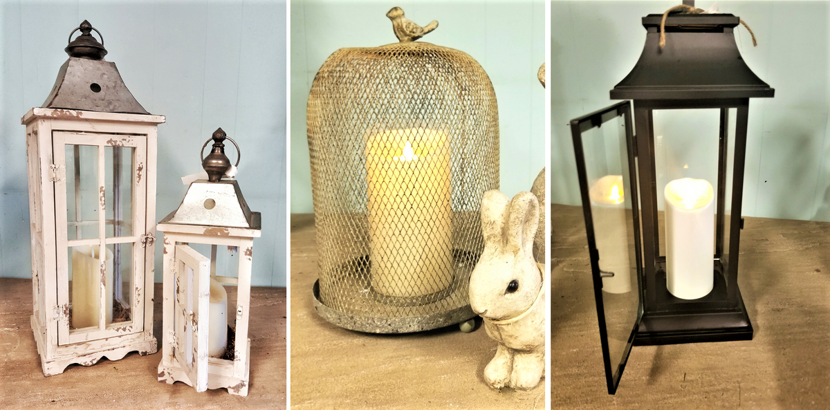 lanterns, outdoor decor, farmhouse, christmas gifts